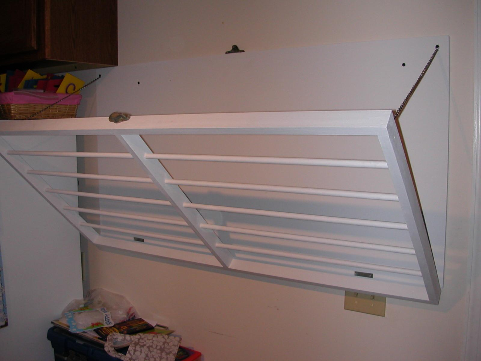 Laundry Room Drying Rack Wall Mounted Making