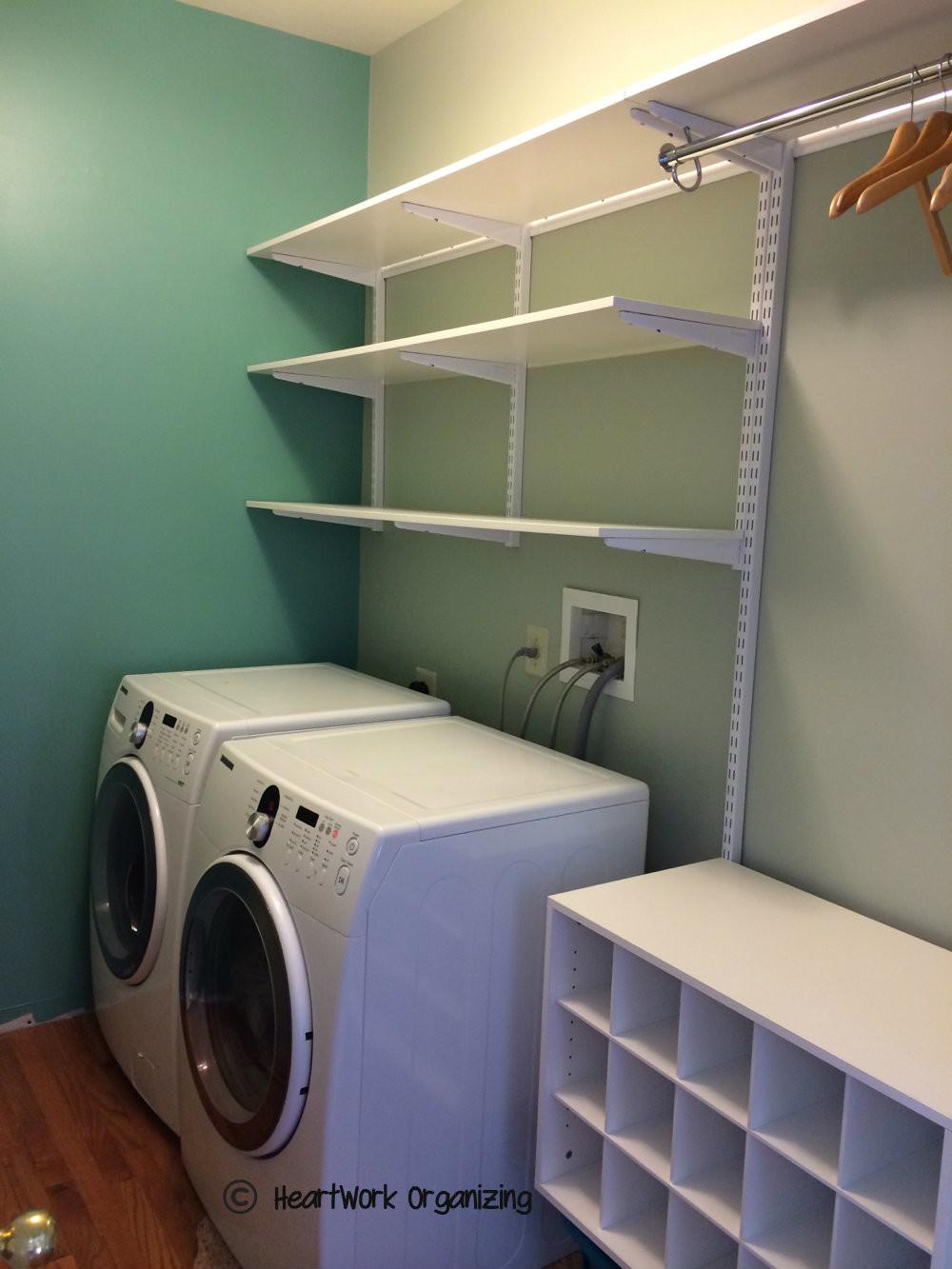 Laundry Room Makeover Able Details Heartwork