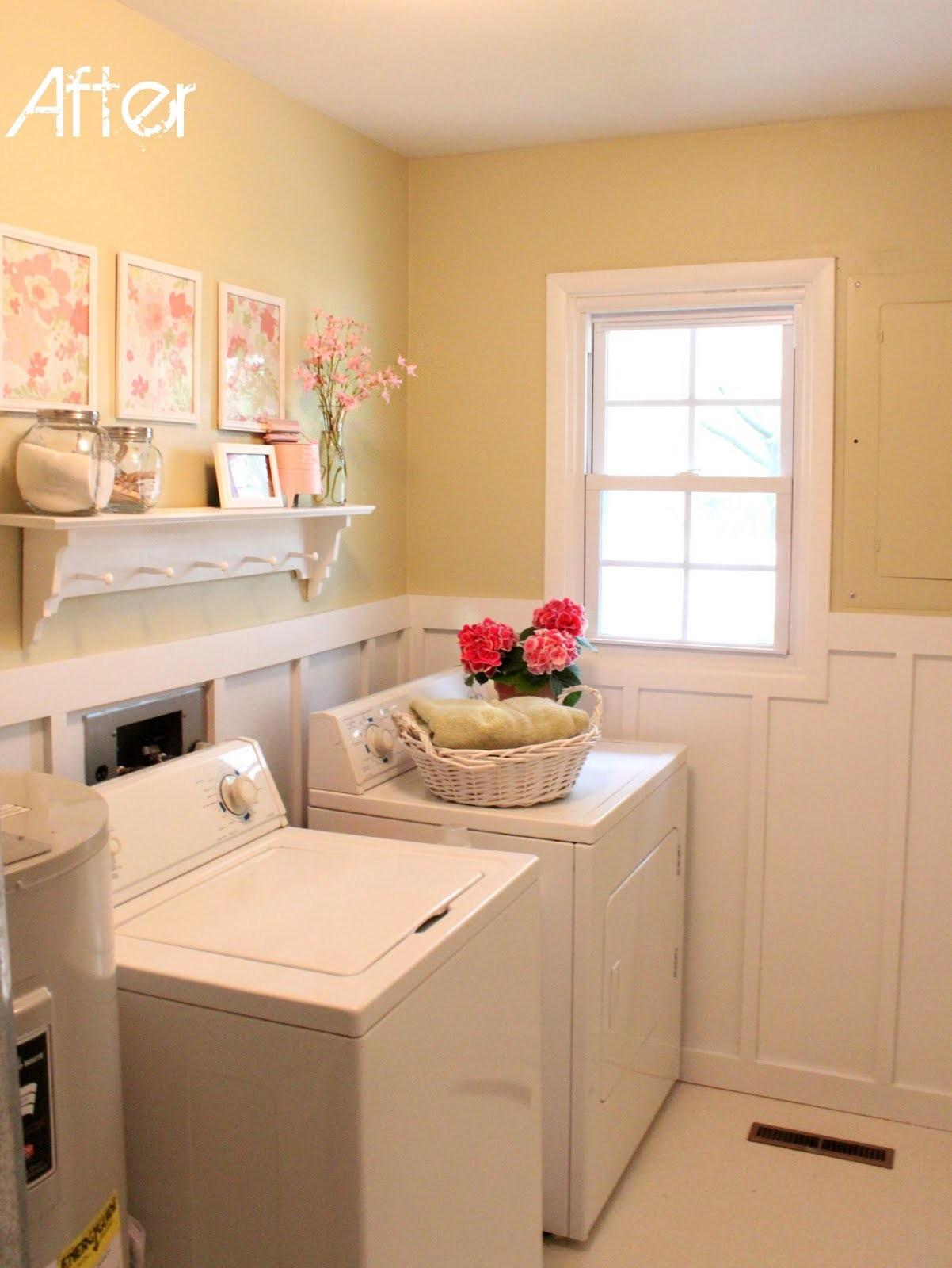 Laundry Room Makeover Love Family Home