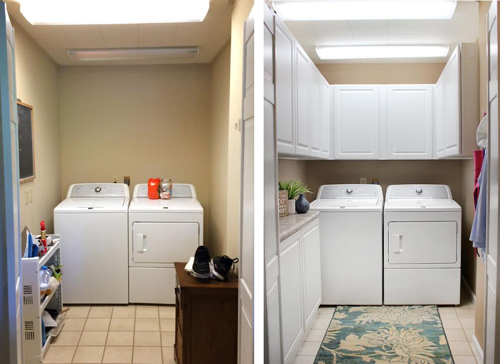 Laundry Room Makeover Small Made Beautiful