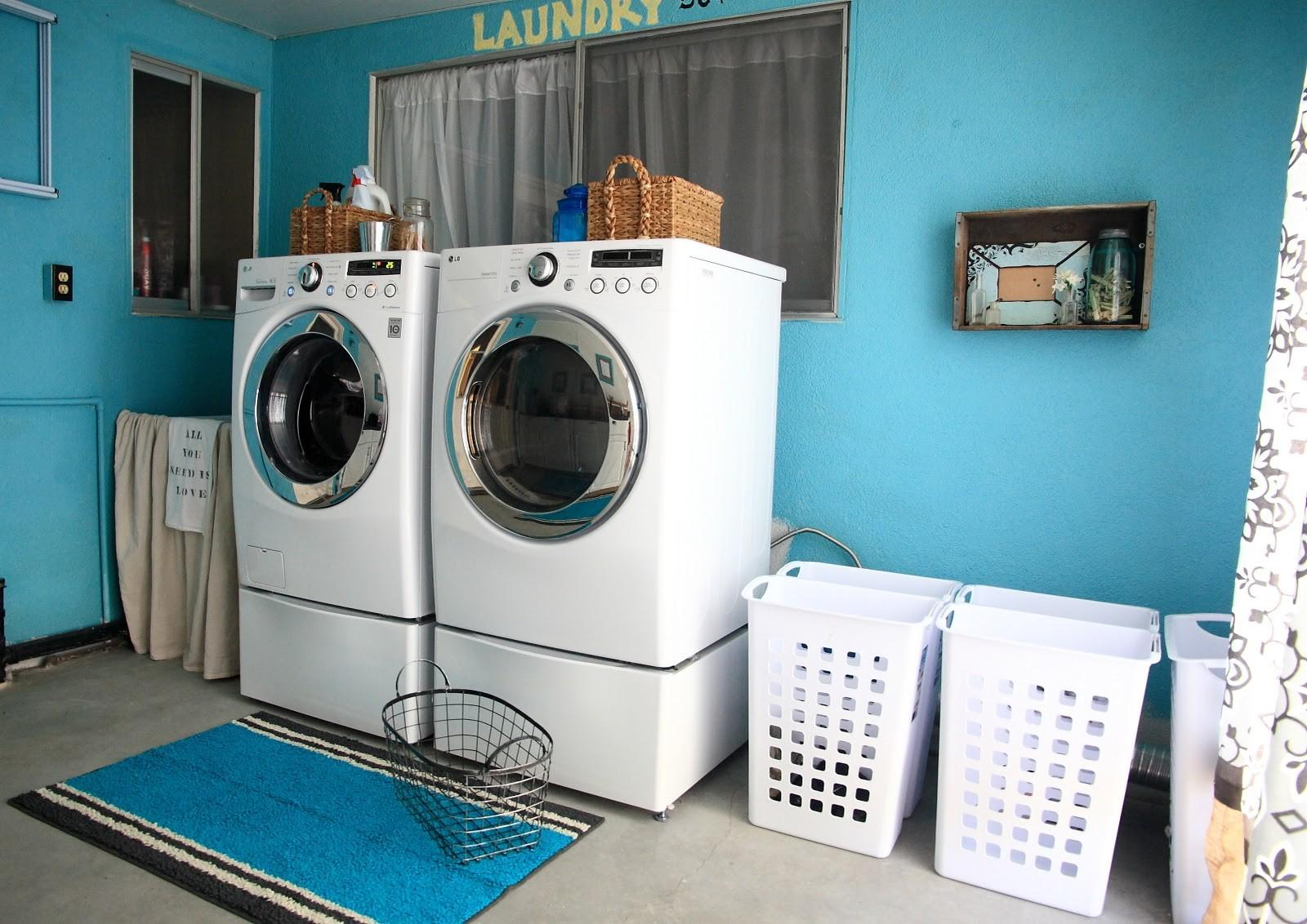 Laundry Room Reveal Yellow Bliss Road