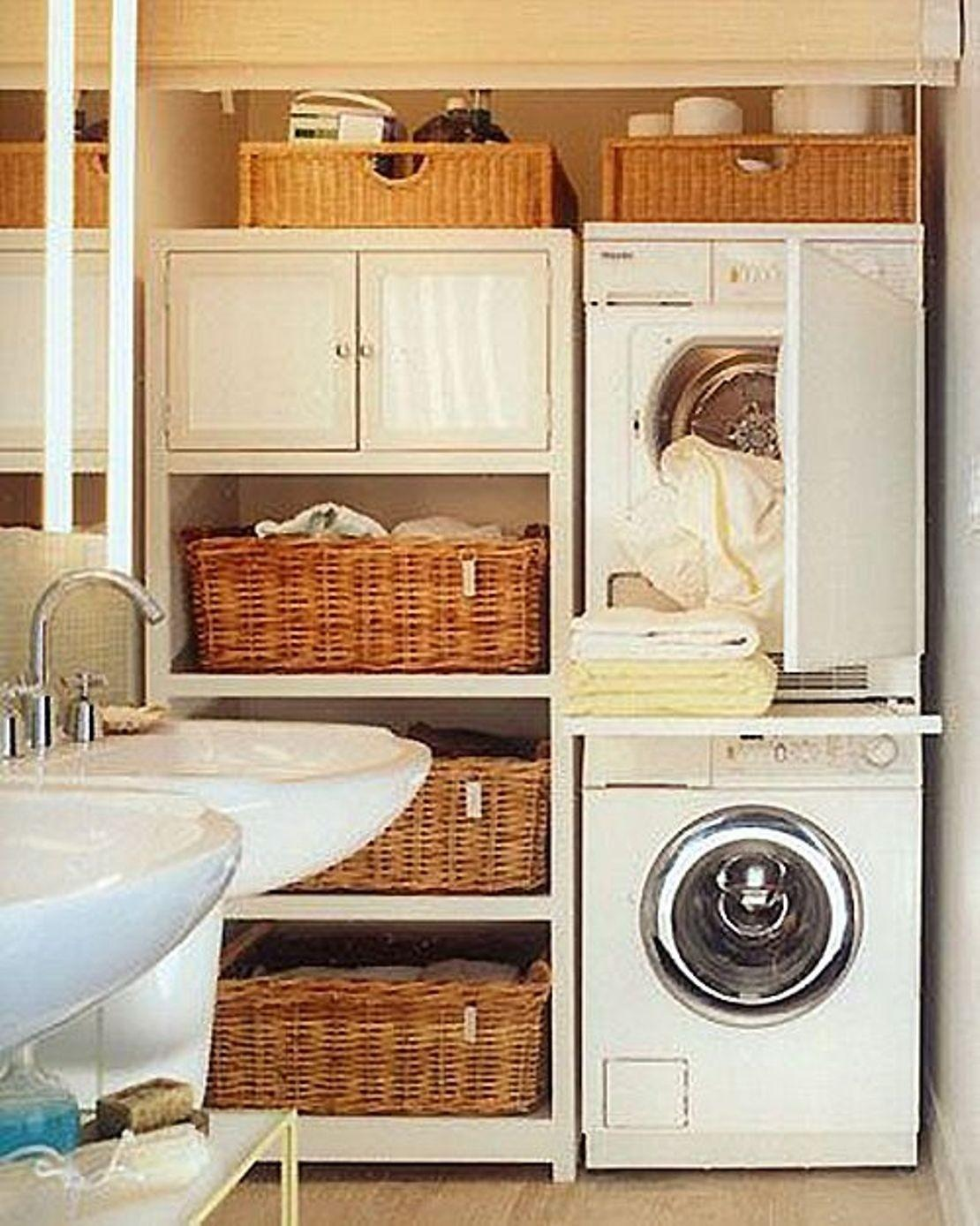 Laundry Room Shelf Basket Shelves