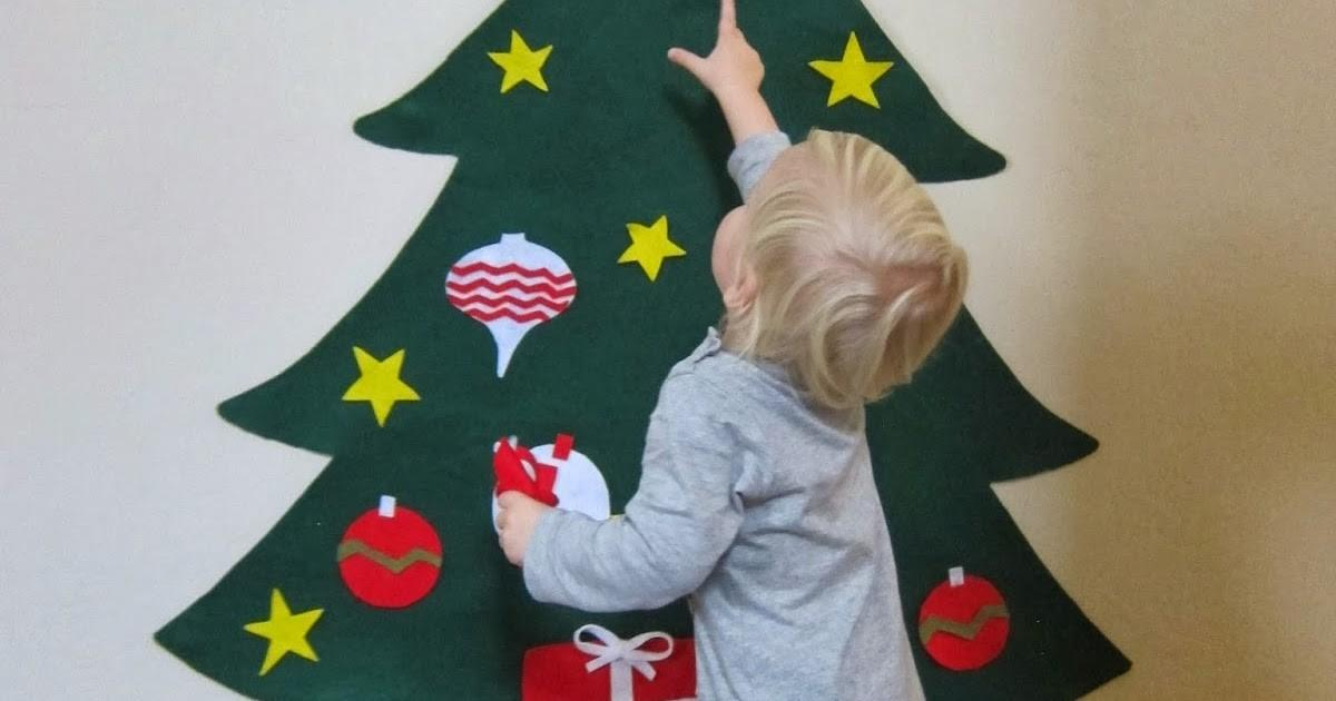 Laurabird Diy Felt Christmas Tree