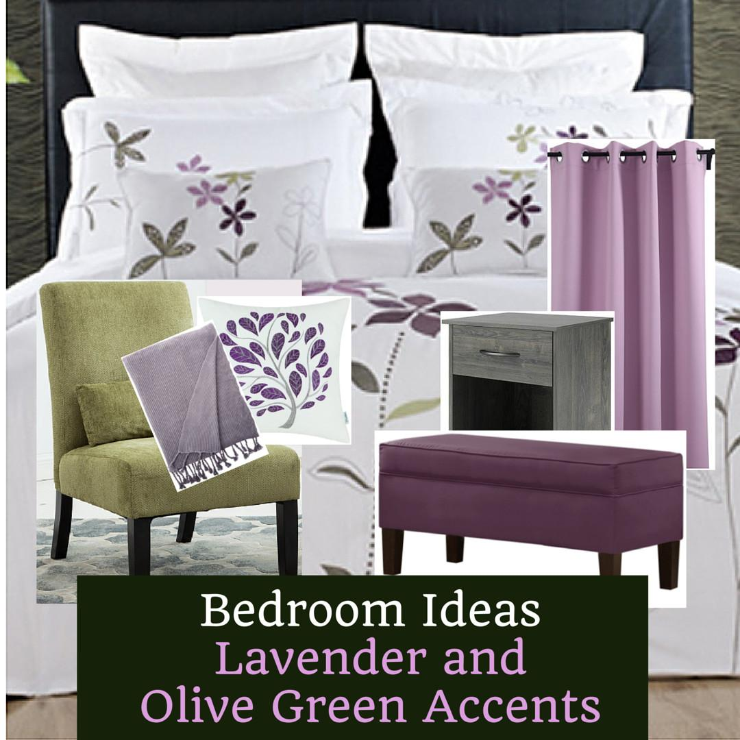 Lavender Olive Green Bedroom Inspiration Home Decor Muse