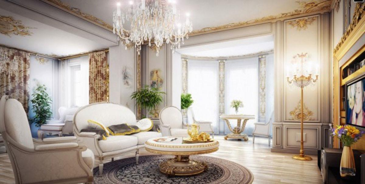 Lavish Victorian Living Room Designs Iroonie