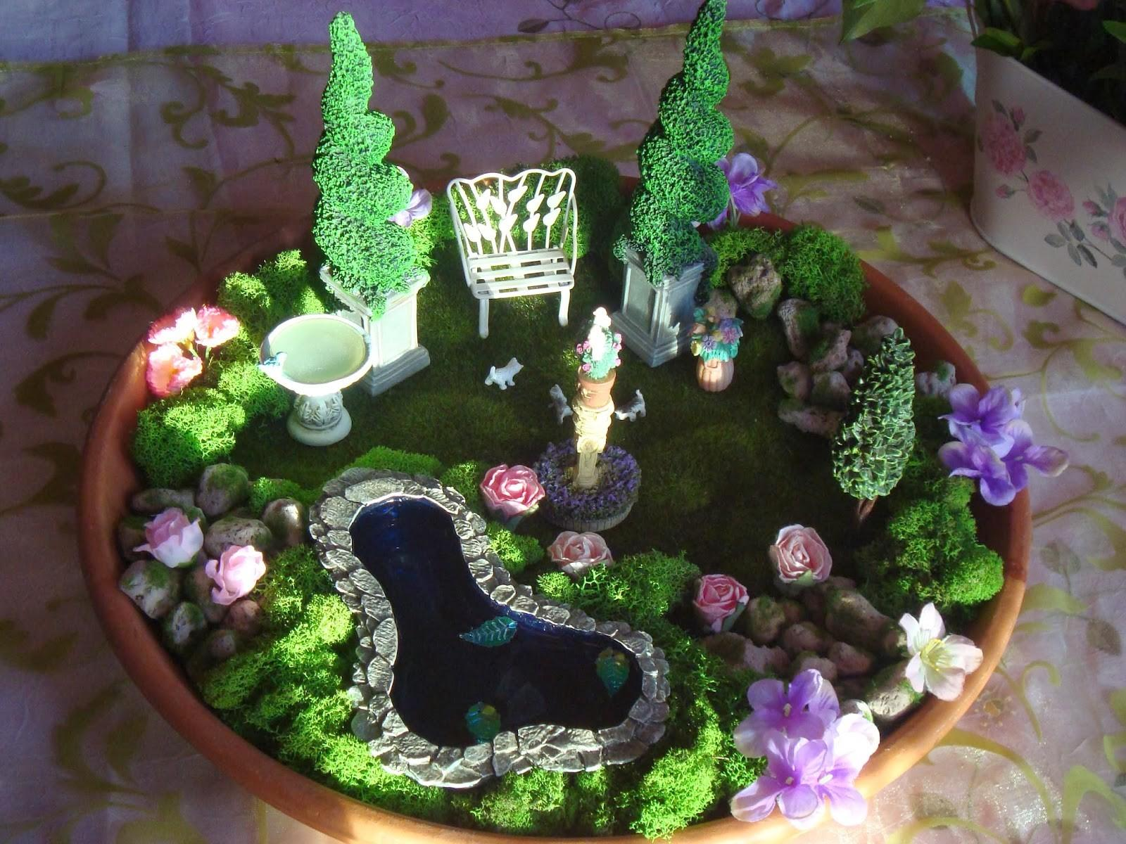 Lawn Garden Create Fairy House