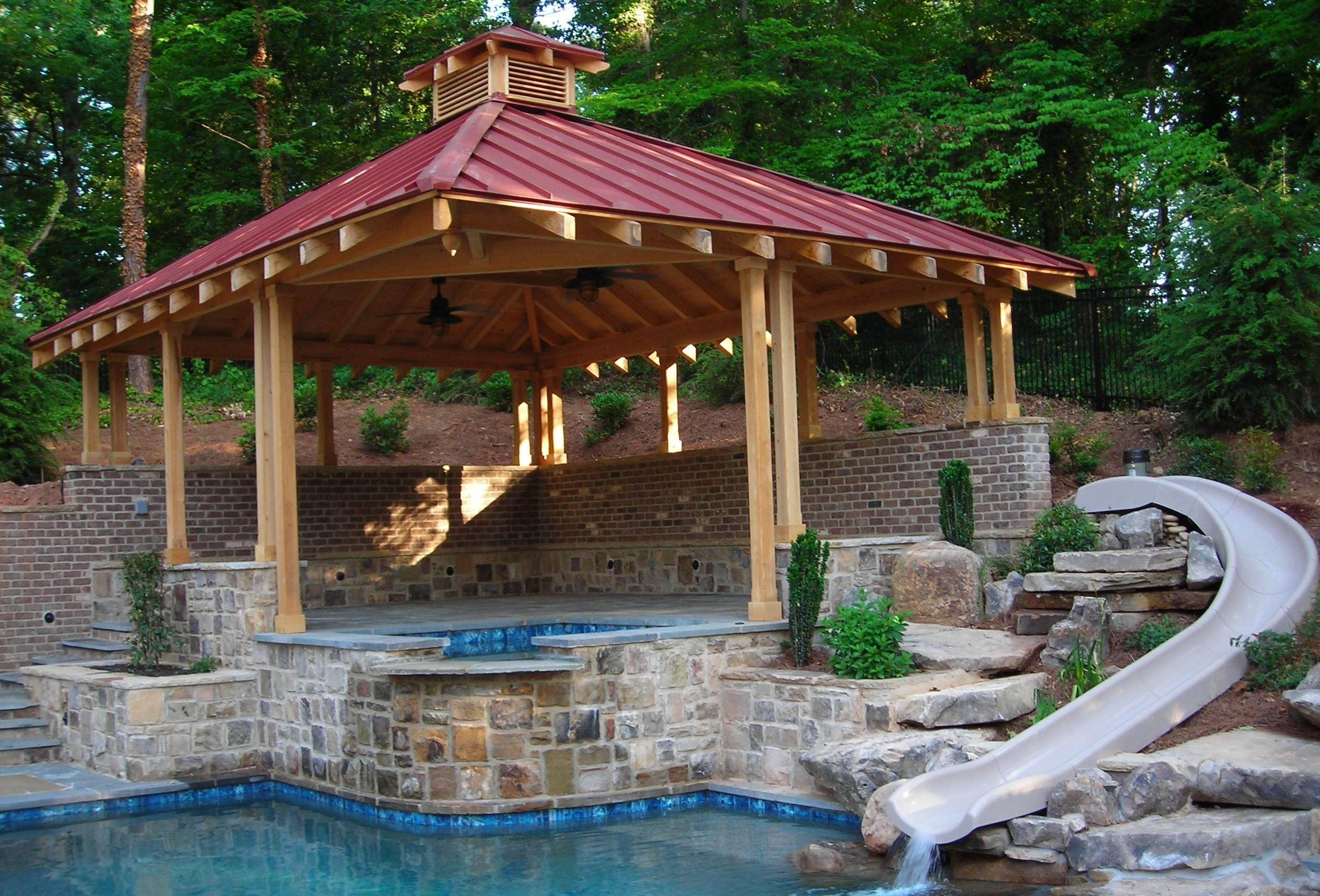 Lawn Garden Outdoor Gazebo Designs Backyard Patio