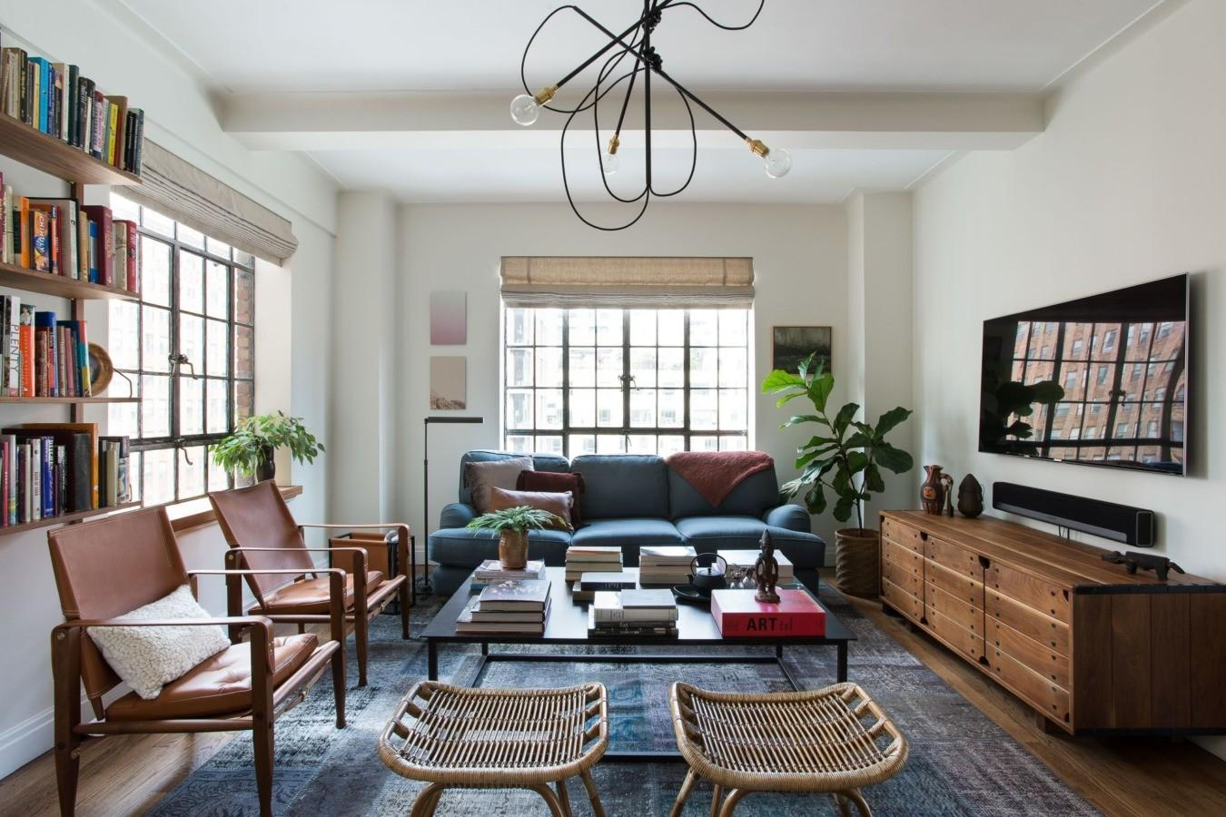 Layered Laid Back Nyc Art Lover Homepolish