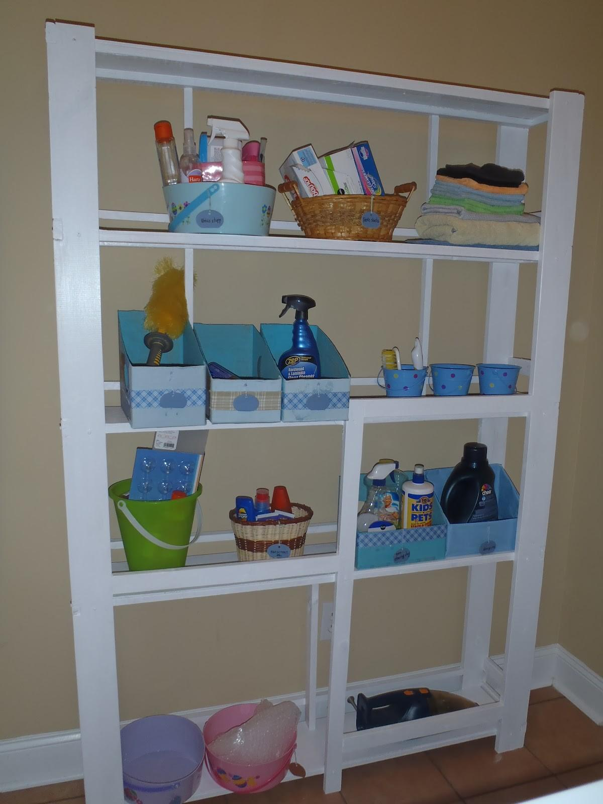 Lazy Liz Less Laundry Room Shelf