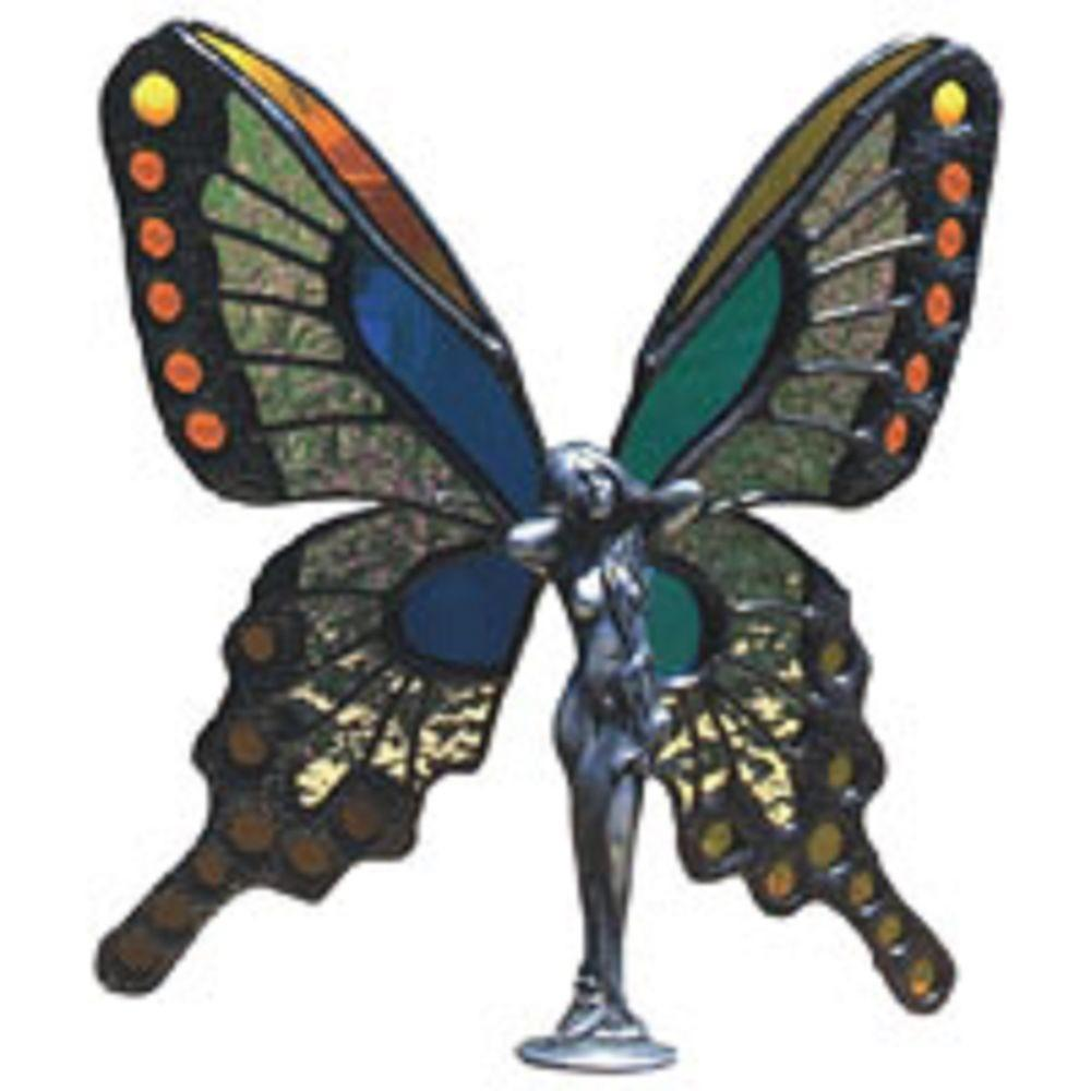 Lead Butterfly Princess Casting Stained Glass