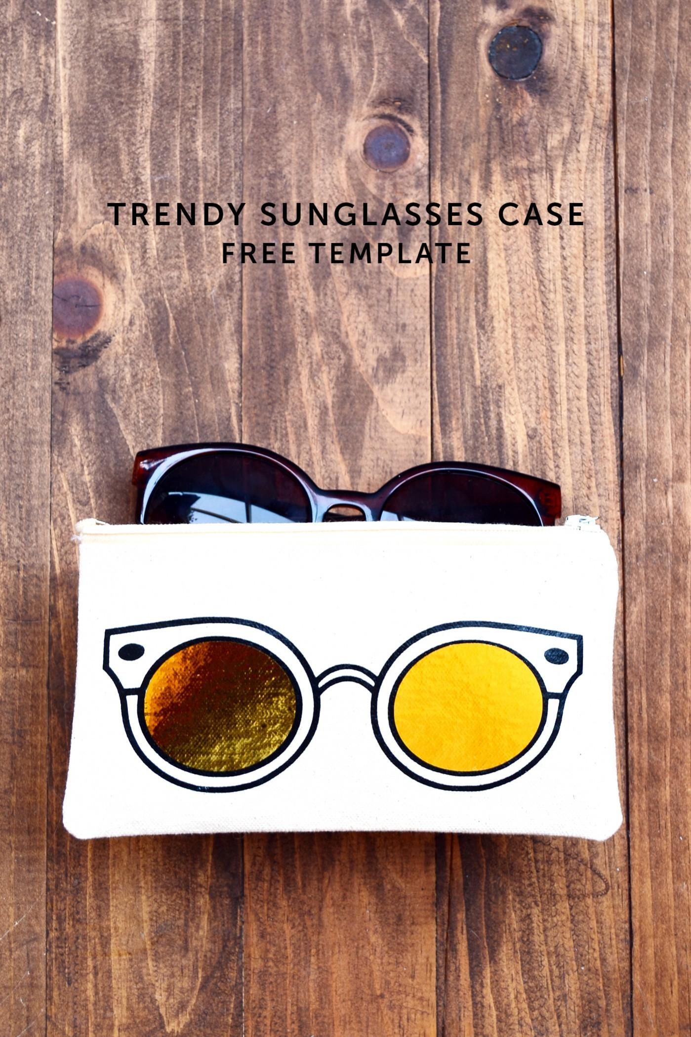 Learn Make Unique Diy Sunglasses Case Using Heat