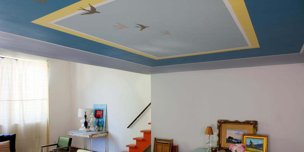 Learn Paint Accent Pattern Your Ceiling