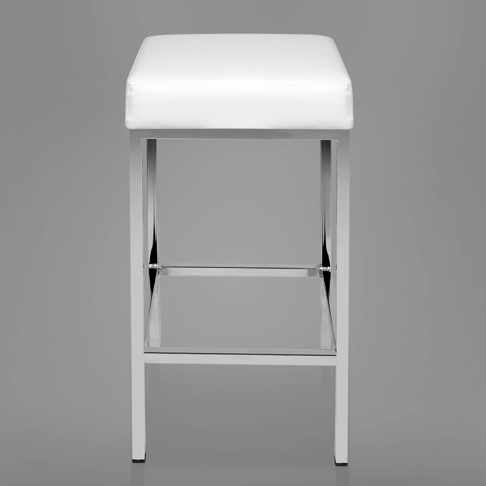 Leather Bar Stool Modern Kitchen Barstool Chair