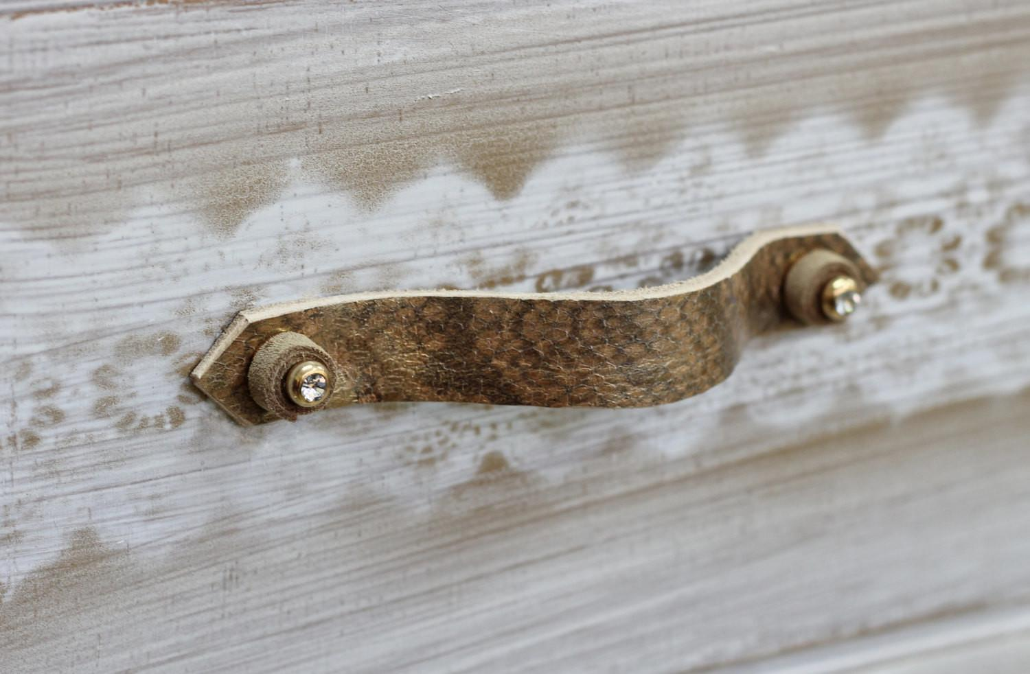 Leather Drawer Handle Pull Diy Furniture
