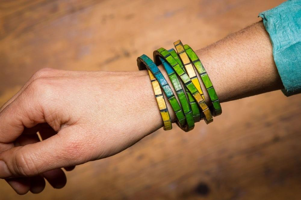 Leather Wrap Bracelet Diy Make Your Own