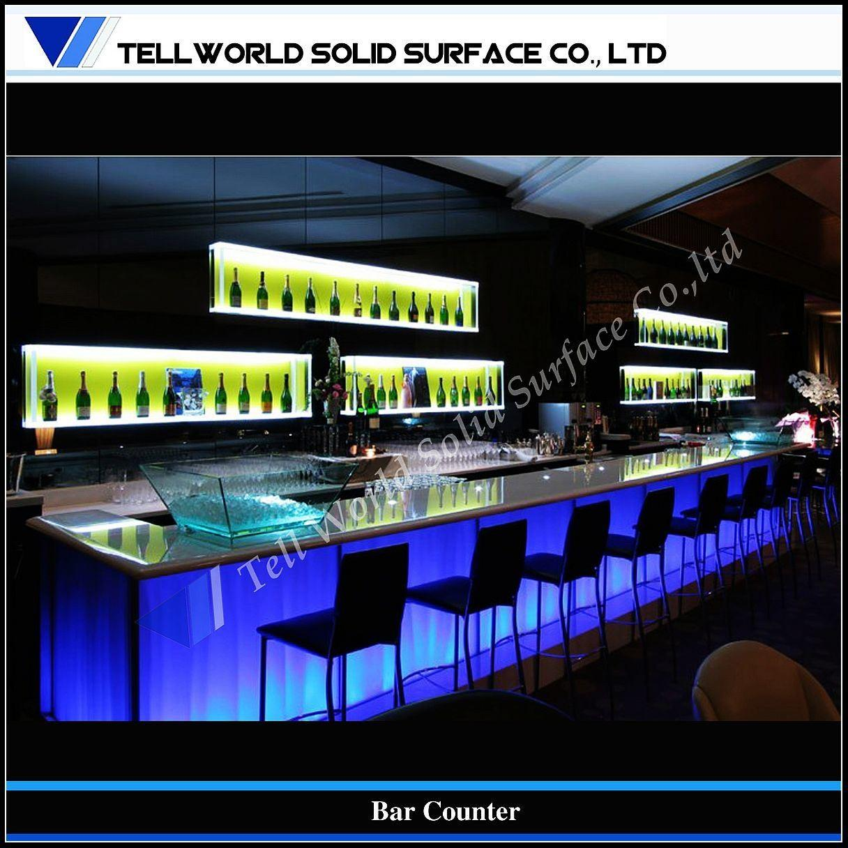 Led Bar Top Glass Tops Cgd