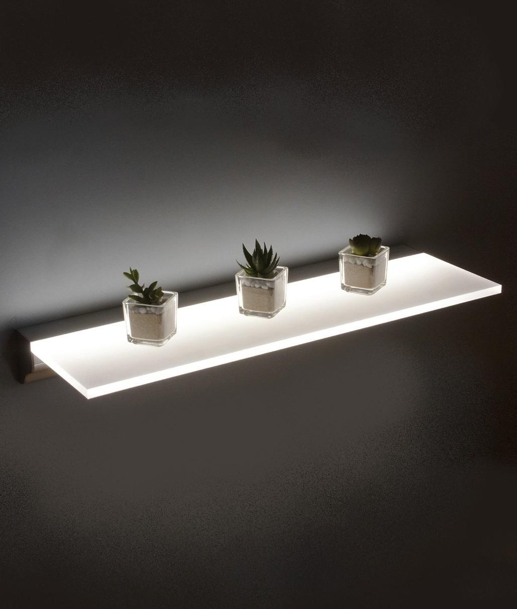 Led Opal Illuminated Shelf Two Sizes
