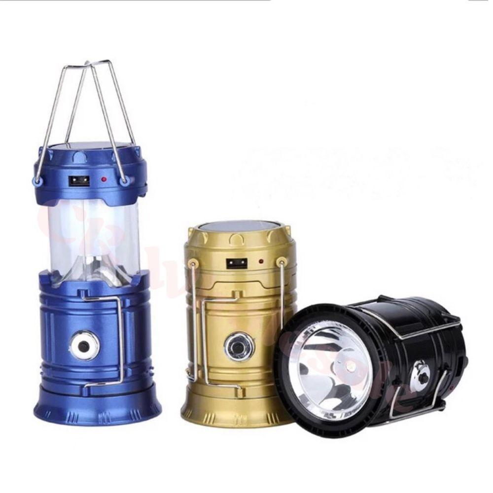 Led Portable Usb Solar Rechargeable Lantern Outdoor