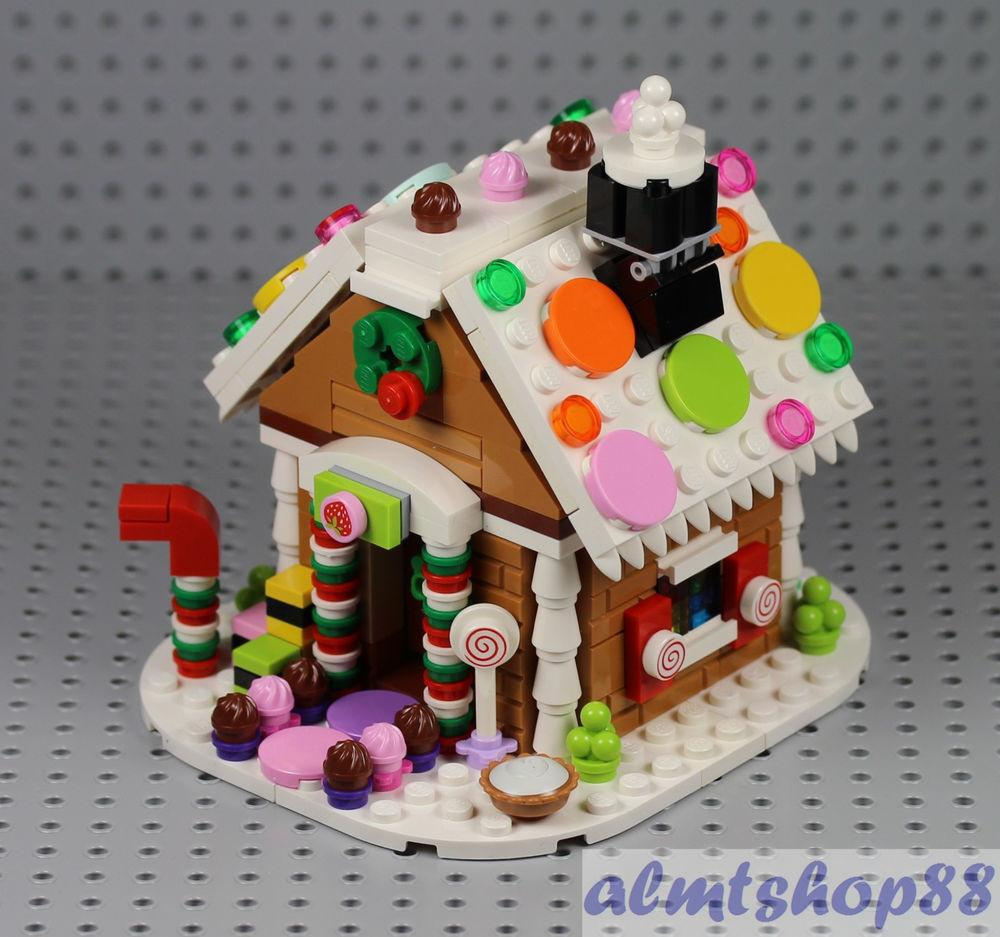 Lego Gingerbread House 100 Complete 2015