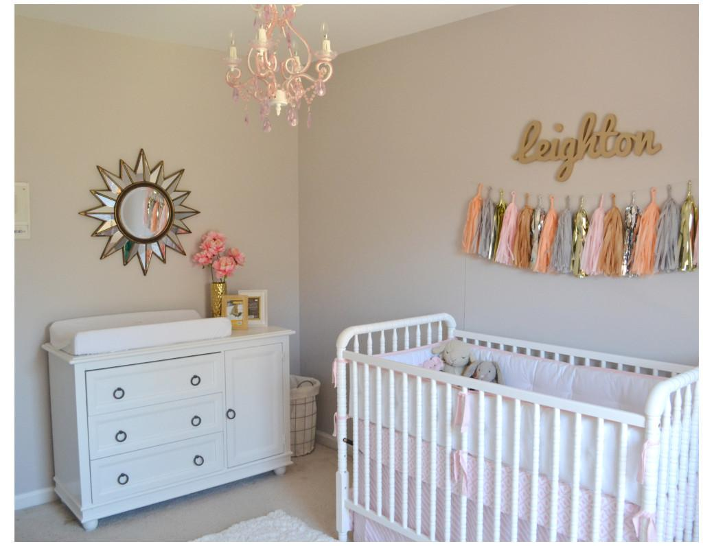 Leighton Kate Pink Gold Nursery Project