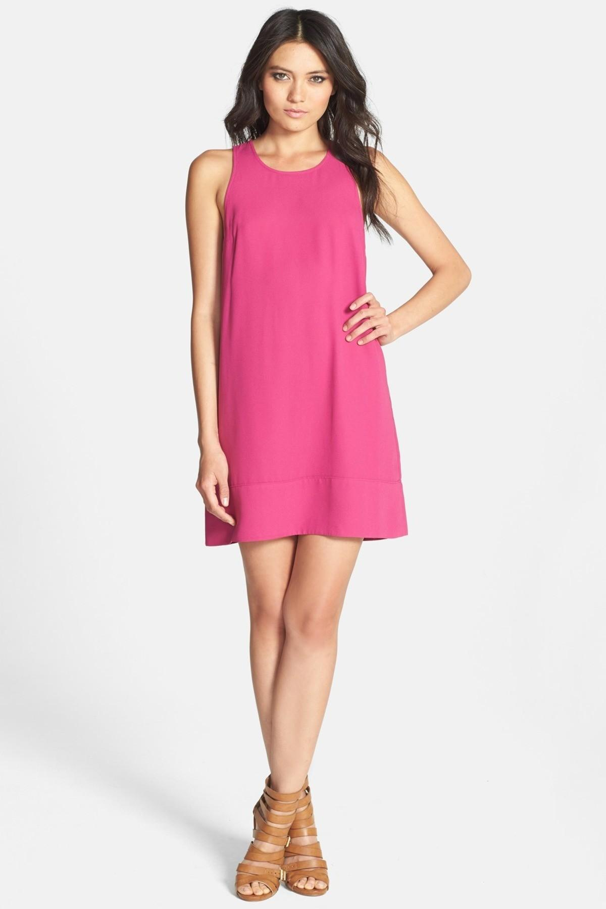 Leith Racerback Shift Dress Juniors Nordstrom Rack