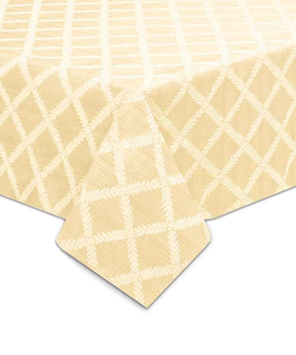 Lenox Ivory Laurel Leaf Tablecloth Zulily