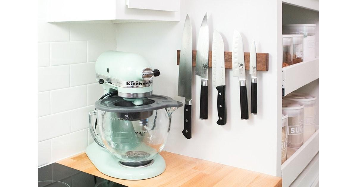 Let Sneaky Ways Hide Kitchen Clutter