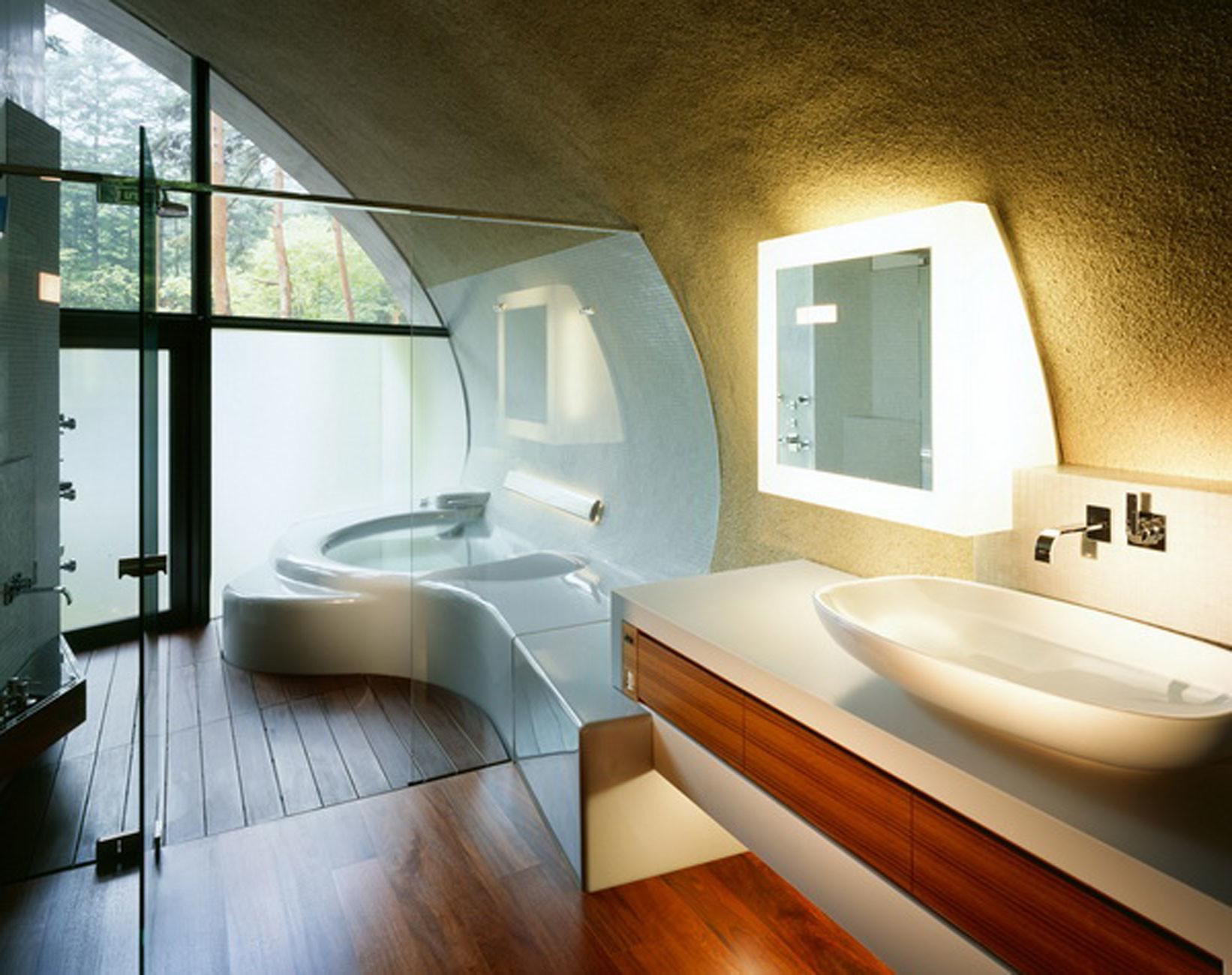 Let Your Body Trapped Serenity Japanese Bathroom