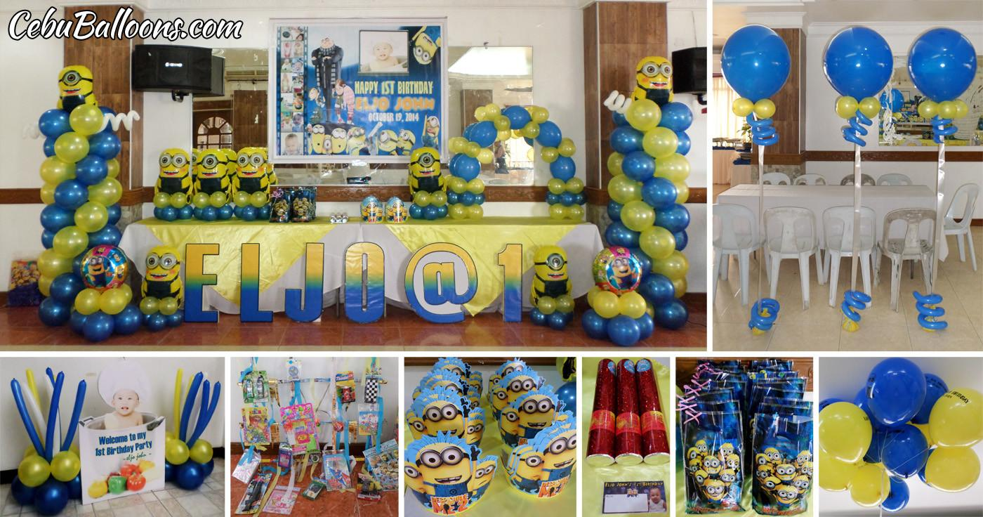 Letter Standees Cebu Balloons Party Supplies