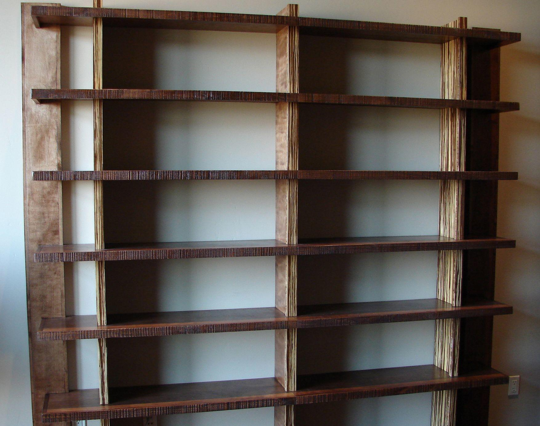 Library Shelves Home Bookcases Libraries