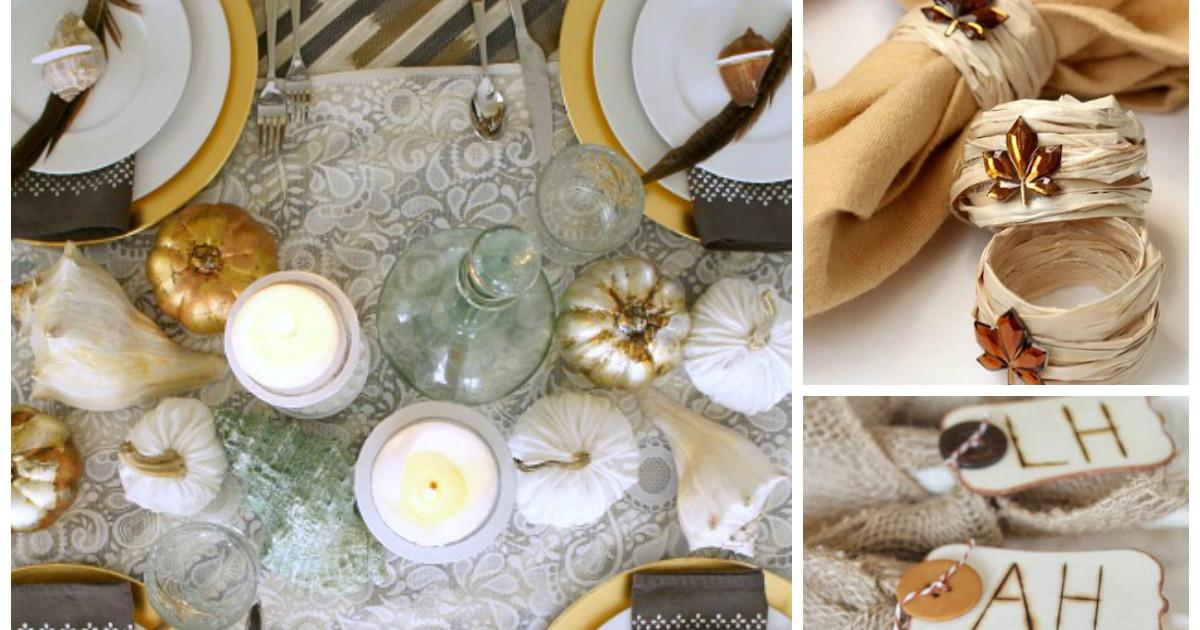 Life Boys Crafty Thanksgiving Table Decor Ideas