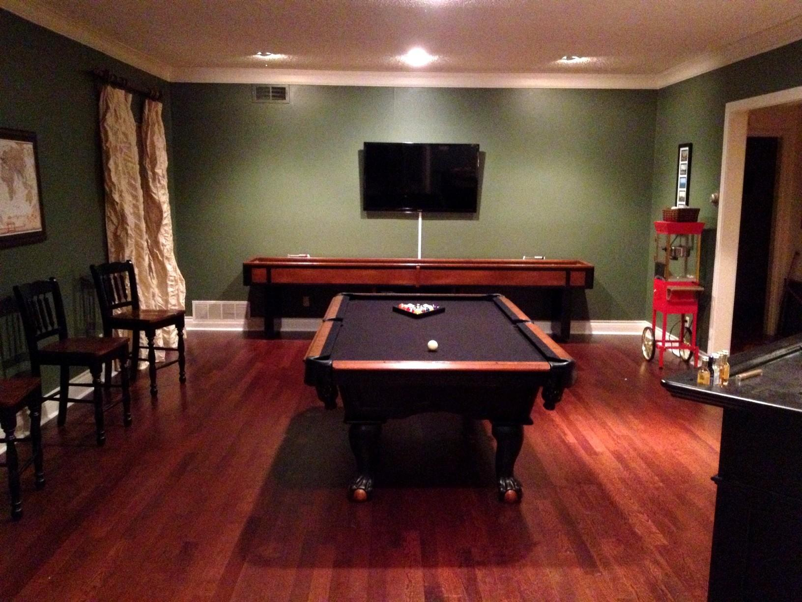 Life Game Room Transformation