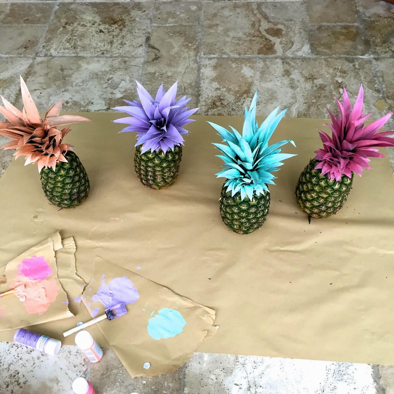 Life Love Pursuit Shoes Pretty Painted Pineapples