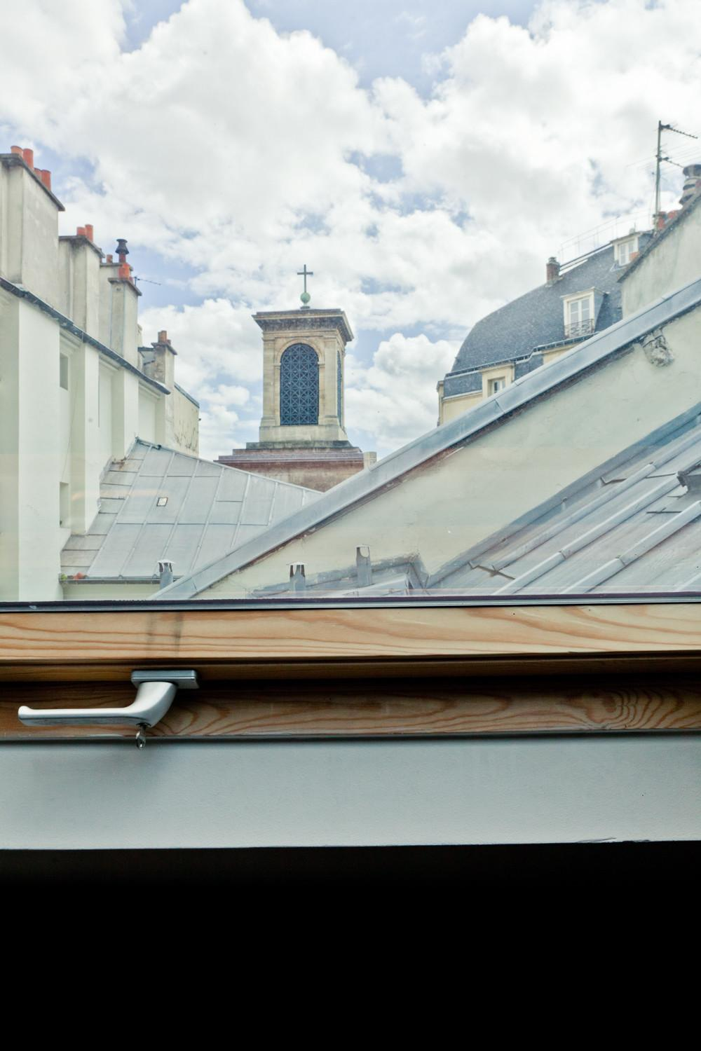 Life Under Paris Rooftop Eclectic Living Home