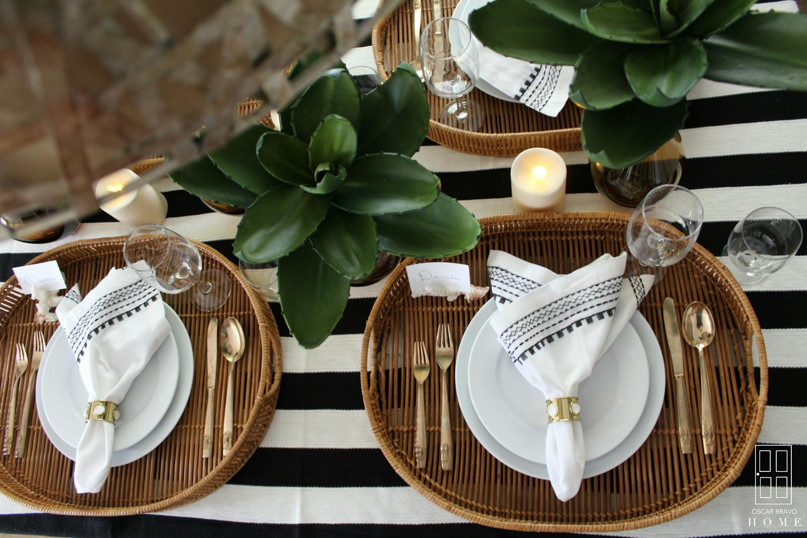 Lifestyles Setting Summer Table