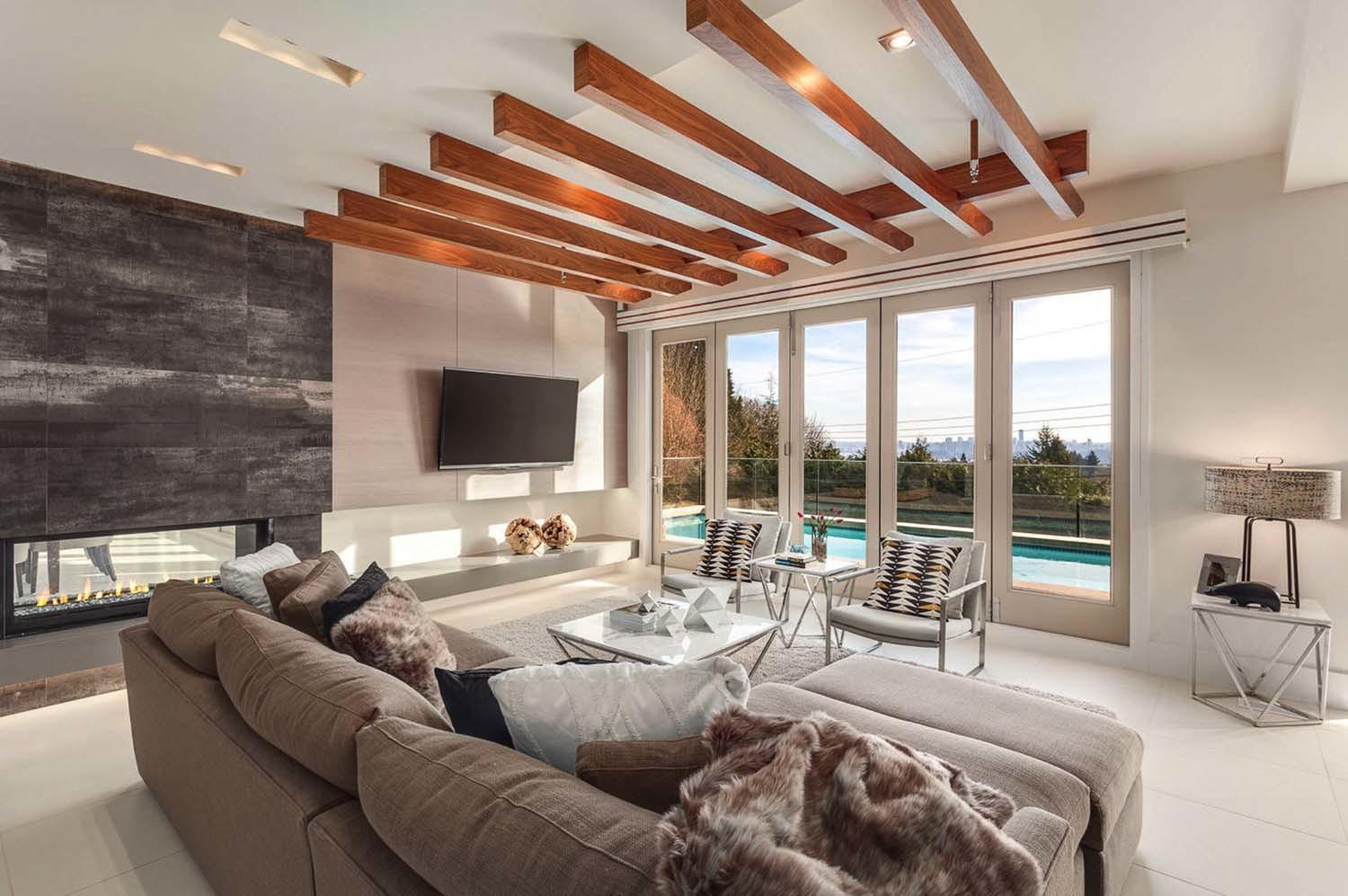 Light Flooded Contemporary Style Residence West Vancouver
