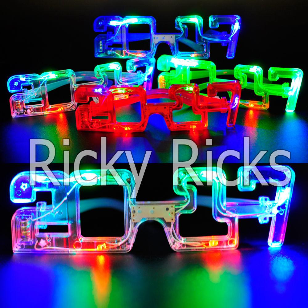 Light New Years Eve Party Glasses Led Supplies 2017