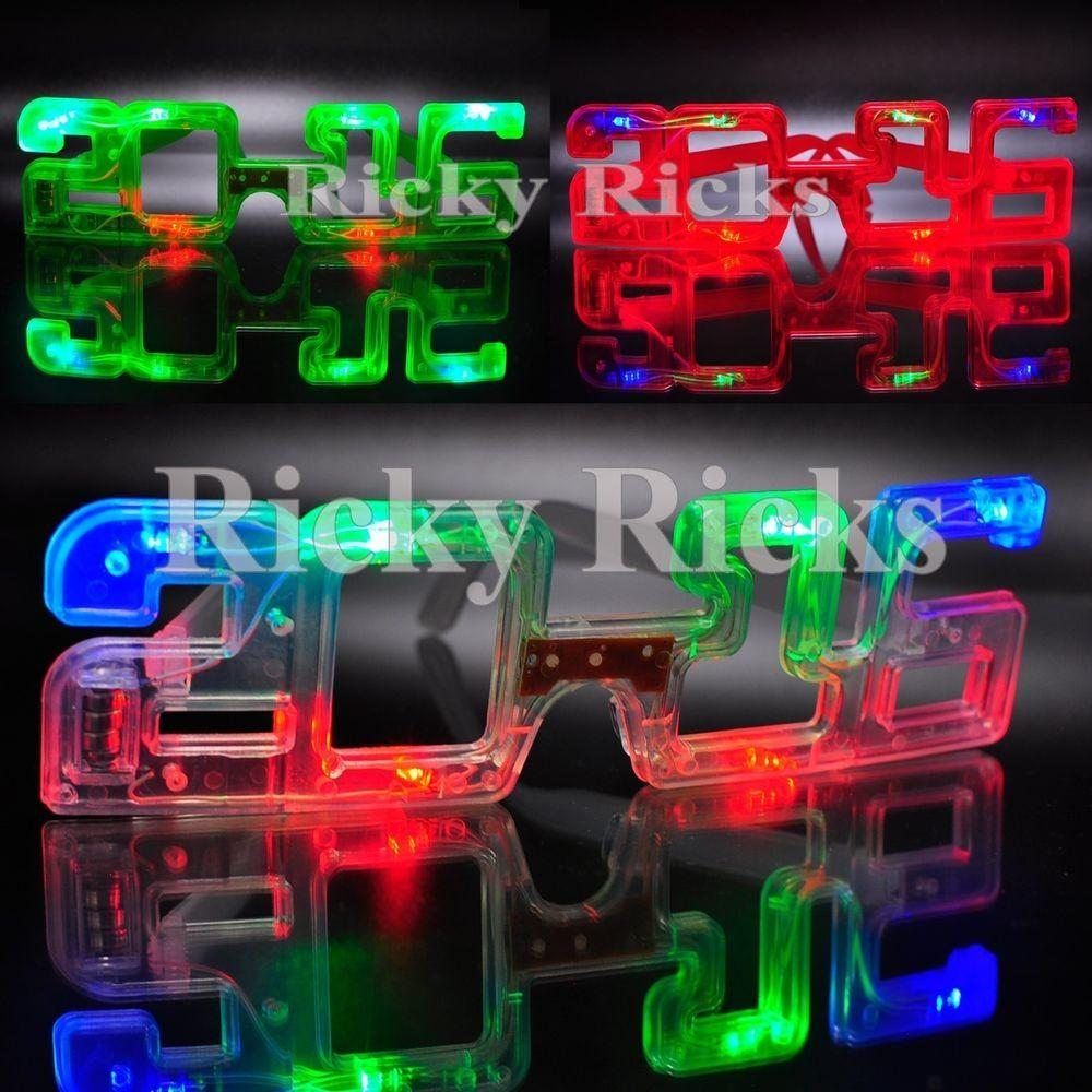 Light New Years Eve Party Supplies 2016 Glasses