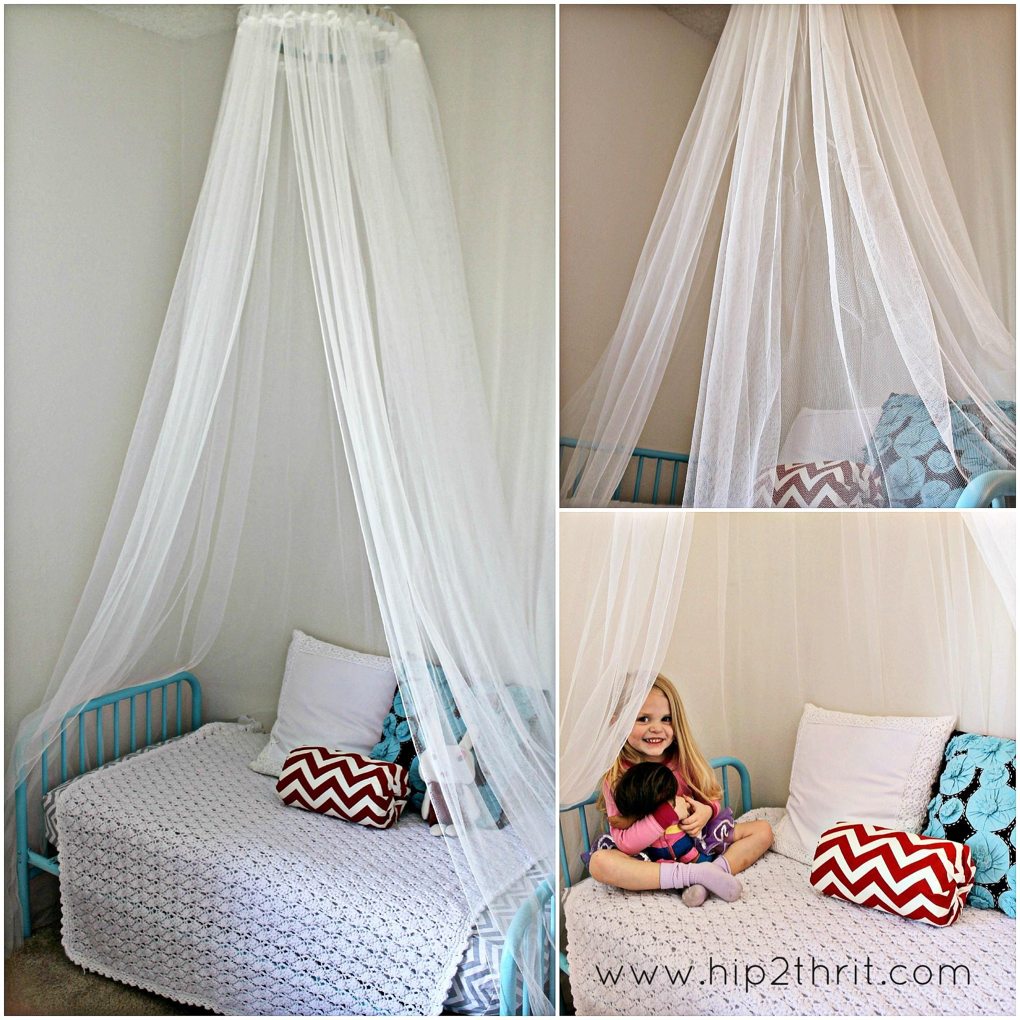 Lighted Bed Canopy Diy
