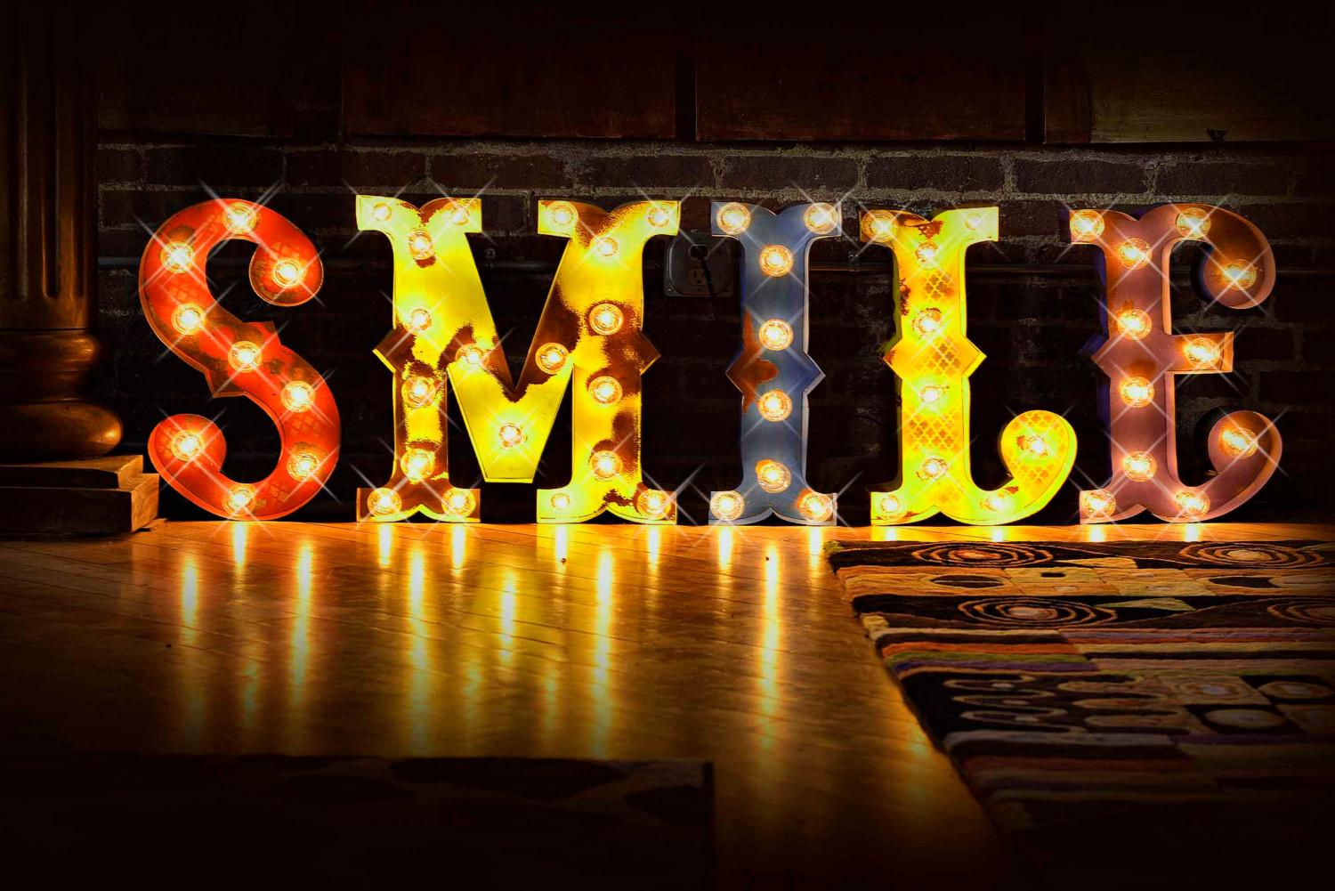Lighted Marquee Letters Sale Circus