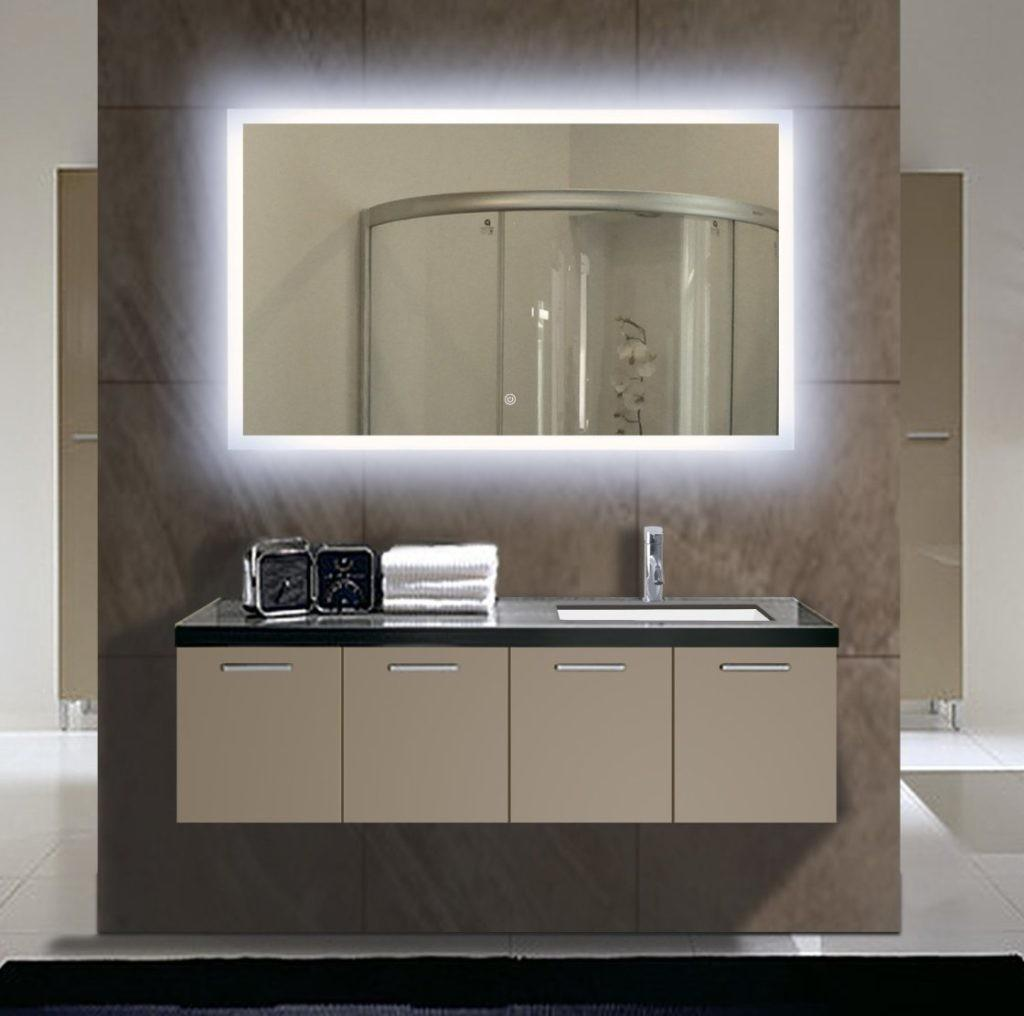 Lighted Wall Mirror Vanity Doherty House Fabulous