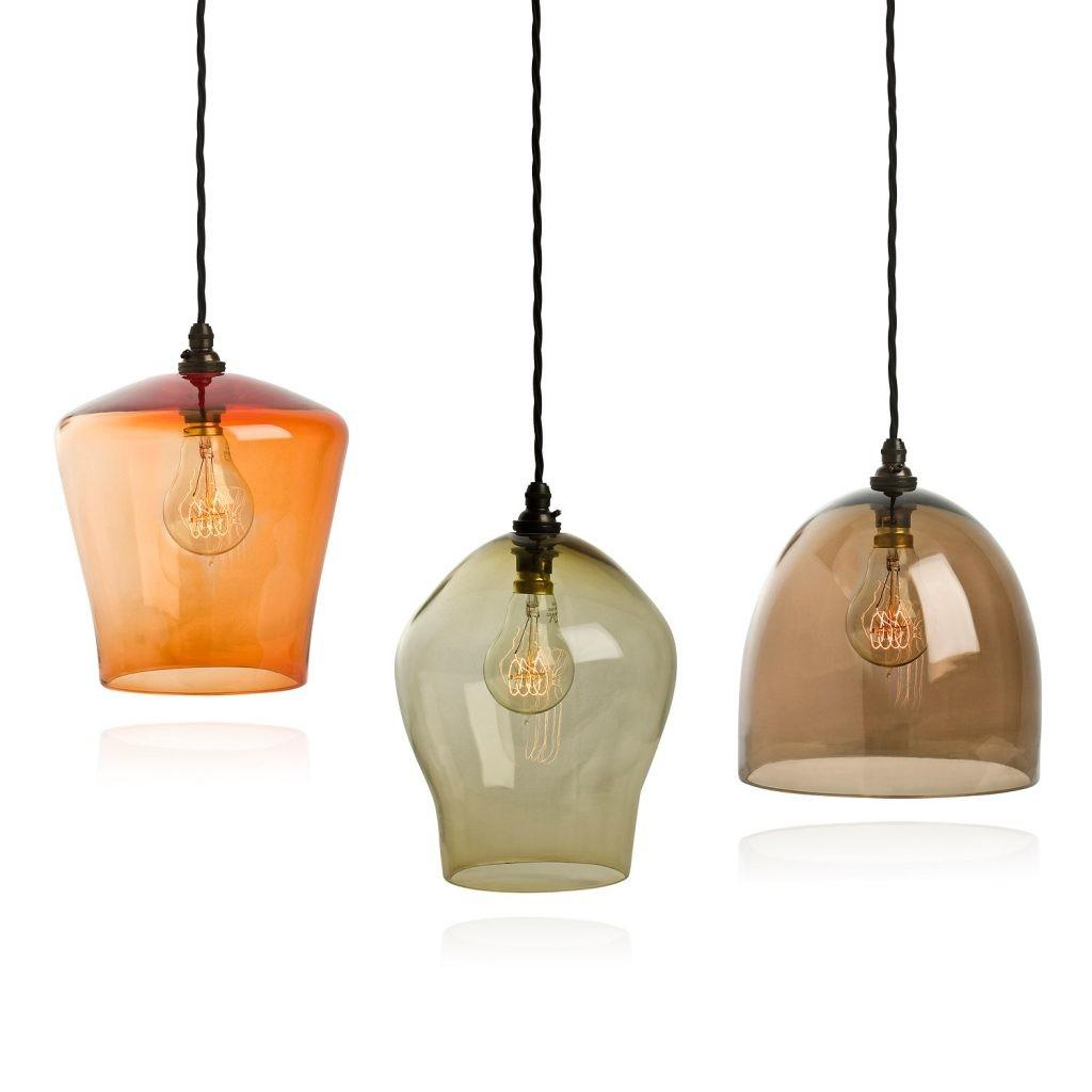 Lighting Design Ideas Colored Glass Pendant Lights