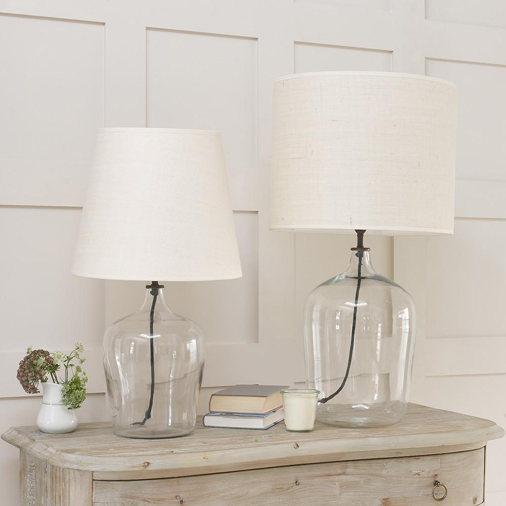 Lighting Gorgeous Glass Lamp Table Lamps