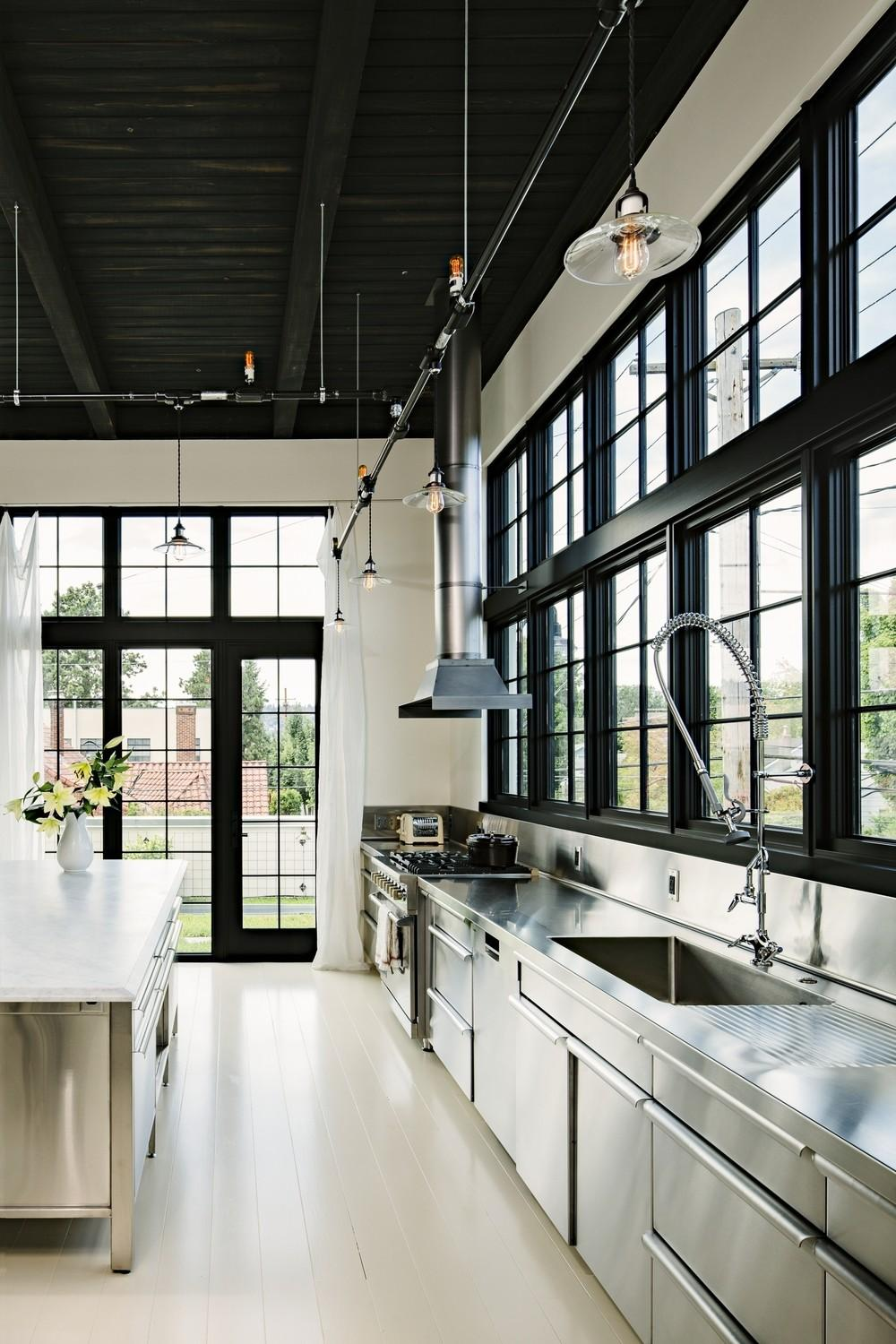 Lighting Ideas Your Vintage Industrial Kitchen