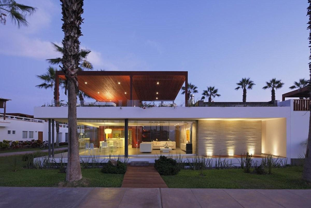 Lighting Luxury Modern Home Lima Peru