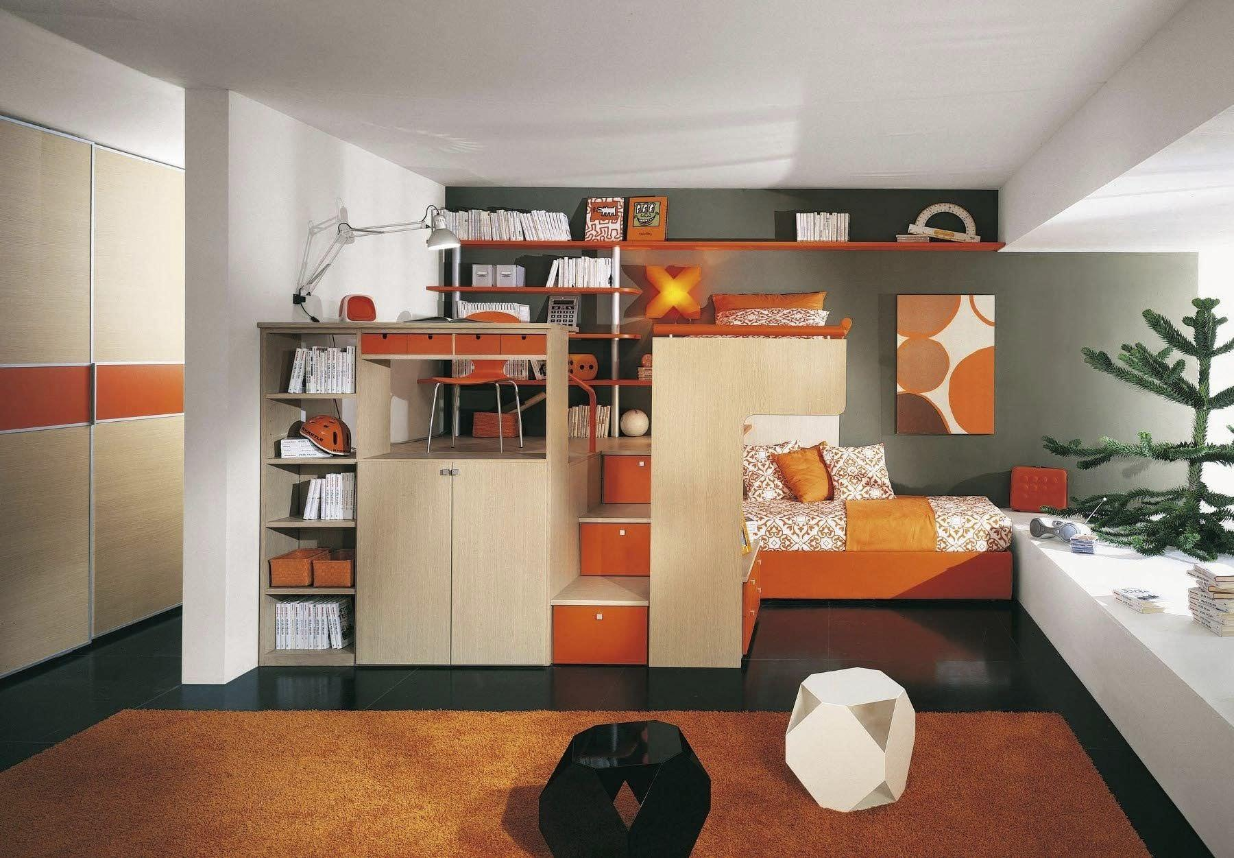 Likeable Colorful Bedroom Design Ideas Kids Well