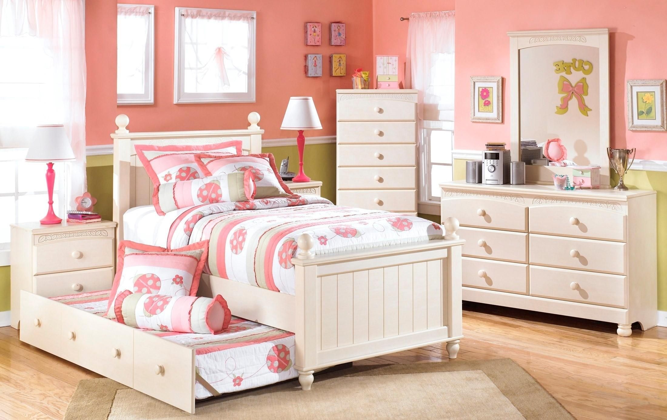 Lil Girl Bedroom Furniture White Ideas Home