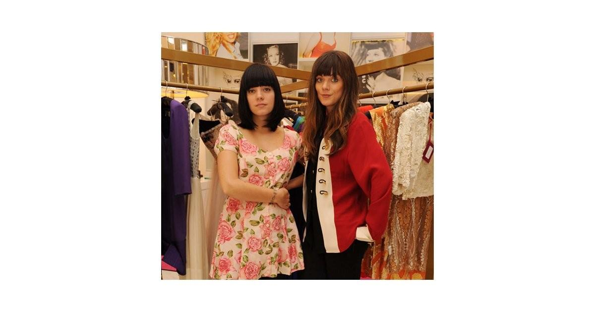 Lily Allen Show Her Vintage Shop Lucy Disguise
