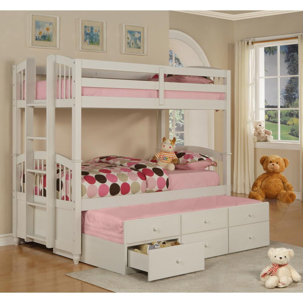 Lily Trundle Bunk Beds Bed Fairy