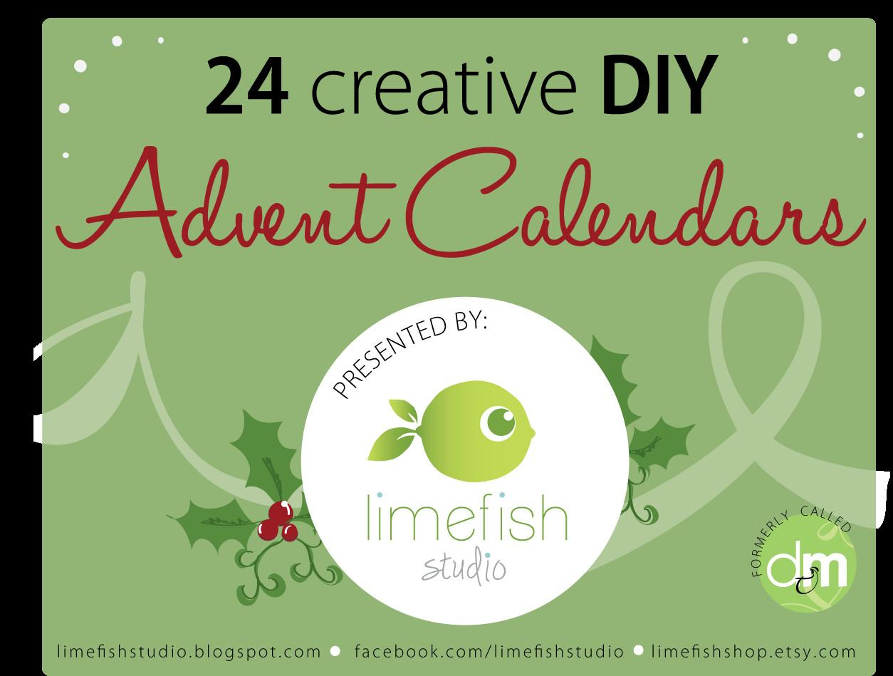 Limefish Studio Creative Diy Advent Calendars